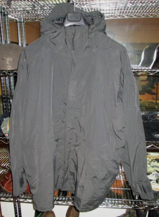 US	 PARKA  NERO  GORETEX