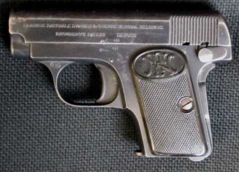 F - ARMI DISATTIVATE -  - PISTOLA BROWNING M.1906  Cal. 6,35