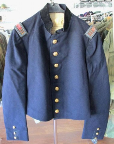 I - MILITARIA STORICA - DIVISE (DI) - US CIVIL WAR  SHELL JACKET UFF. ART.